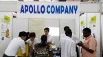 호원대 GTEP사업단이 제24회 우간다 국제무역전시회에서 (주)아폴로의 수출 상담활동을 지원하고 있다