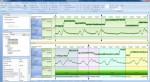 공정 데이터 분석 화면