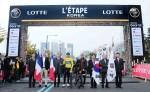 세계적인 아마추어 사이클 대회 2016 투르 드 프랑스 레탑 코리아가 5일 오전 7시 서울 잠실 올림픽 공원에서 개막했다
