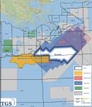 TGS와 슐룸베르거가 석유탐사 유망지역인 미 멕시코만 중부에서 새로운 멀티/와이드 아지무스 멀티클라이언트 리이미징 프로그램을 실시한다