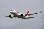 봄바디어가 6번째 CS100 항공기를 스위스국제항공 측에 공식 인도했다