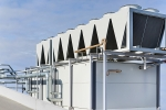 AHU on big commercial building