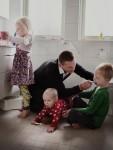 스웨덴의 아빠 사진전(작가 요한 배브만)