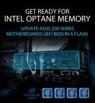 ASUS가 인텔 옵테인 메모리 기술을 완벽하게 지원하는 최신 UEFI BIOS 배포를 알렸다