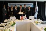 한국전력이 4월 20일 미국 샌프란시스코에서 배터리 제작사인 KOKAM社, 세계적인 VPP 플랫폼 사업자인 Sunverge社와 태양광 및 ESS를 활용한 VPP 사업 공동개발 협력