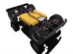 모헤닉 게라지스 4x4 사륜 인휠모터 독립제어 플랫폼