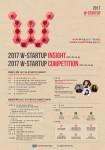 2017 W-STARTUP INSIGHT 홍보 포스터