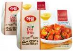 하림이 안동식 찜닭에 매콤한 맛의 빨간 카레를 더한 자연실록 더 매콤한 카레맛 순살찜닭 제품을 출시한다