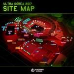 울트라 코리아 2017 사이트 맵