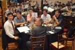 임베디드소프트웨어·시스템산업협회가 제21회 임베디드 클럽 행사를 성황리에 개최했다. 왼쪽부터 시계방향으로 한국정보산업연합회 이영로 실장, 문정현 상무, 국민대 임성수 교수, KES