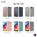 보이아 LG Q6 클린업 퀵커버 케이스 3종, 클린업 하드 케이스 3종