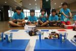 시립창동청소년수련관이 제11회 행복서울 청소년 로봇 캠프 참가자를 모집한다. 사진은 전년도 캠프