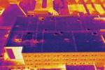 플리어시스템 코리아가 공중검사용 열화상 카메라 드론 키트를 출시한다. 사진은 플리어 드론 키트가 포착한 장면