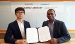 Yang In-Chul, CEO of Solmedix Co., Ltd and Santhosh Kumaraswamy, President of Mobiuso LLC