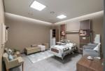 퍼시스가 병원 전문 브랜드 퍼시스케어의 전시 공간을 리뉴얼했다. 사진은 퍼시스케어 서울쇼룸 전시 공간