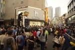 2017 목포세계마당페스티벌의 5미터 높이 거대인형 옥단이