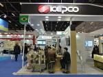 한국전력이 한국전기산업진흥회와 공동으로 2017년 브라질 국제 전기 산업전에 참가했다