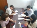 사단법인 티앤비엔터테인먼트가 러시아 글린카 노보시비르스크 국립음악원과 MOU를 체결했다