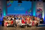 KWN 글로벌 서밋의 일환으로 KWN 글로벌 콘테스트 2017이 18개 국가 및 지역 학생들의 참가로 열렸다