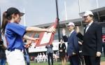 LG전자와 한국여자야구연맹이 공동 주관하는 LG컵 국제여자야구대회가 25일 개막했다