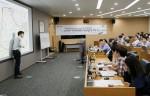 LG CNS 사옥에서 KAIST 박진규 교수가 LG CNS 직원대상 'KAIST AI 아카데미' 진행한다.