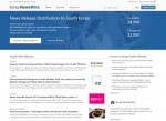 Korea Newswire, Korea No.1 Press Release Distribution Service, renewed its English website.