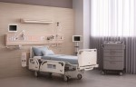 퍼시스케어가 중환자 침대 프리조 ICU 베드를 출시하고 국제병원의료산업박람회 전시에 참가했다