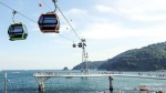 The Songdo marine cable car began operation under the brand new name, Busan Air Cruise. The cable ca