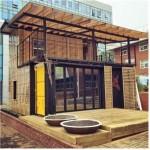 폐컨테이너를 활용한 에너지자립하우스 살림집