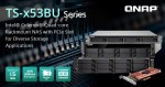 QNAP이 쿼드코어 랙마운트 TS-x53BU 시리즈 NAS를 출시했다