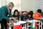 양평 체인지업캠퍼스에서 진행하는 원어민과 함께하는 모의 UN 프로그램