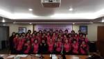 여주시정신건강복지센터가 가남읍 행복드림봉사단을 대상으로 보고 듣고 말하기 교육을 실시했다