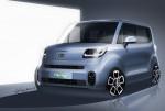 기아차가 2011년 출시 이후 처음으로 디자인을 변경한 레이 상품성 개선모델의 렌더링을 6일 공개했다