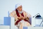 무슬림사회 평화 촉진을 위한 포럼에 참석한 샤이흐 압달라 빈 바야 포럼 의장