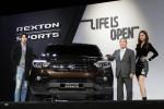 쌍용자동차가 2018년 SUV시장에 새로운 트렌드를 제시할 오픈형 렉스턴 렉스턴 스포츠를 출시하고 본격적인 판매에 들어간다
