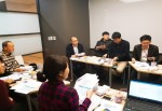 서울시사회적경제지원센터가 마을기업 성장을 위한 레벨업 지원사업 참여기업을 공모한다. 사진은 2017년 레벨업 지원사업 참손길공동체협동조합 안마원 3호점 개점을 위한 킥오프 미팅