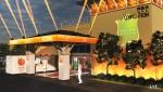 하이네켄이 한국 속의 네덜란드 홀랜드 하이네켄 하우스를 오픈한다. 사진은 홀란드 하이네켄 하우스 전경 3D 이미지