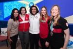 2018 평창동계올림픽 기간 동안 P&G 패밀리 홈에서 올림픽 메달리스트이자 은퇴한 피겨 스케이팅 선수인 미셸 콴이 주최한 토론회에 P&G 선수들이 모여 성별이 꿈을 이루는 데 장애물이 되어선 안된다는 주제로 토론을 했다