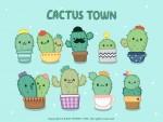 유니드캐릭터의 Cactus 캐릭터