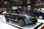쌍용자동차가 모터쇼에서 공개한 EV 콘셉트카 e-SIV