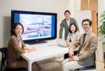 왼쪽부터 이혜경 선임연구원, 강호철 이사, 이은정 팀장, 양인철 대표