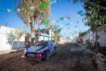 2018 WRC 3차 대회인 멕시코 랠리에 참가해 경기를 펼치고 있는 현대자동차의 신형 i20 랠리카