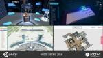 한국가상현실이 개발한 산업용 VR솔루션 전시 시스템