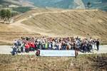 28일 나무심기 행사에 참여한 시민들