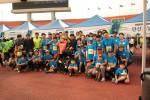 한국몰렉스의 가족 마라톤 행사