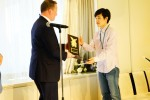 건국대 이창현 동문이 제10회 전 일본대학 식육품질평가대회에서 일본 오비히로 축산대학 대표로 참가해 소 부문 1위, 종합 부문 1위를 차지했다