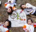 지역아동센터 아동을 위한 숲생태감수성 향상프로젝트 와숲에 참여한 아이들