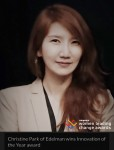 2018 우먼 리딩 체인지 어워드를 수상한 에델만디지털코리아 박하영 전무