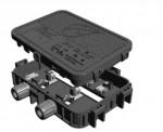 정션박스 내의 플렉스 MLPE 콘택트는 고전류와 악천후에의 노출에 충분히 견뎌내고 교체 가능 정션박스 커버에서도 사용 가능하다
