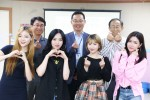 홍보대사 U.A유에이와 서울시립동대문청소년수련관 임직원